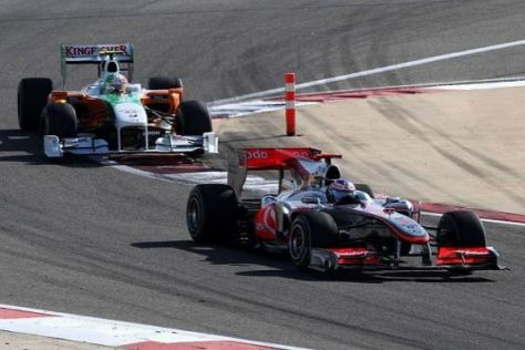 Ranfahren ja, überholen nein: Bleibt die Formel 1 vorerst ohne Überholmanöver?