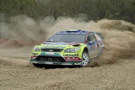 Mikko Hirvonen und Ford hatten in Mexiko gegen Loeb und Co. keine Chance