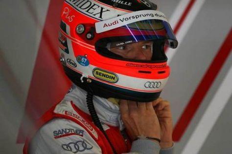 Alexandre Prémat gab am ersten Tag der ITR-Tests 2010 das Tempo vor