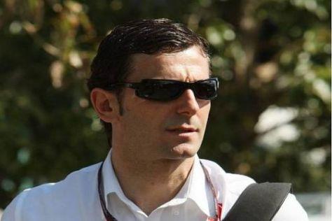 Pedro de la Rosa wird das neue F-Schacht-System morgen erstmals testen