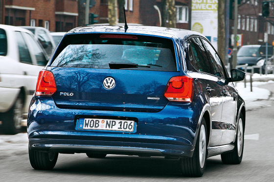 vw polo bluemotion im verbrauchstest. Black Bedroom Furniture Sets. Home Design Ideas