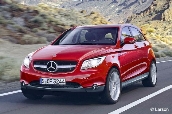 Mercedes clr und mercedes blk vorschau auf die neuen for Mercedes benz germany careers