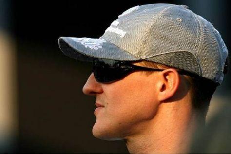 Michael Schumacher ist mit seiner bisherigen Leistung recht zufrieden