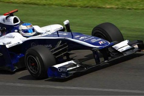 Rubens Barrichello kam in die Top 10, sieht sicht dort aber nicht gesetzt