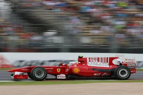 Fernando Alonso gibt sich trotz mäßiger Zeiten am Nachmittag entspannt