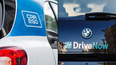 Carsharing: Fusion von Car2Go und DriveNow