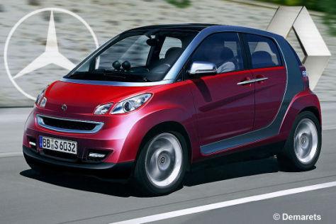 Daimler und Renault kooperieren