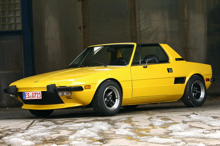 Fiat X1/9 1.3 (1972)