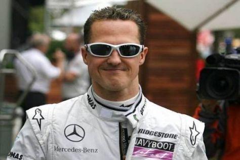 """Michael Schumacher ist mit Platz sieben zufrieden: """"Realistischer Abstand"""""""