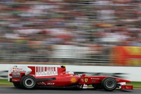 Fernando Alonso schielt nur mit einem Auge auf den Australiensieg