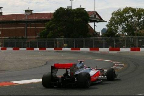Jenson Button war am Samstag deutlich besser als Lewis Hamilton