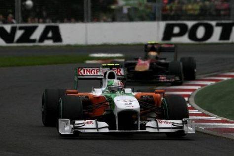 """Vitantonio Liuzzi fuhr als """"Reifenflüsterer"""" zu einem verdienten siebten Rang"""