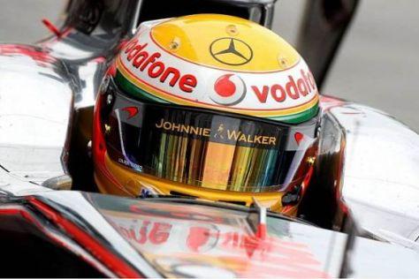Lewis Hamilton ist enttäuscht über den Ausgang des Rennens in Melbourne