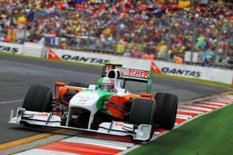 Vitantonio Liuzzi fuhr für Force India auch in Australien in die Formel-1-WM-Punkte