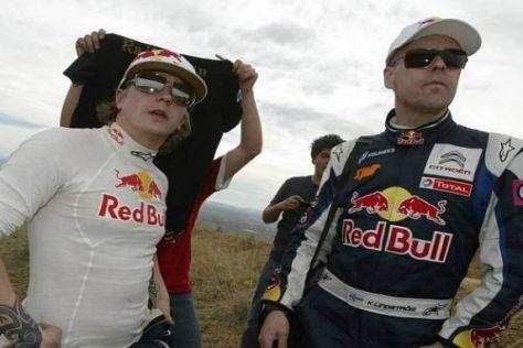 Kimi Räikkönen und Kaj Lindström sind gespannt, was sie in Jordanien erwartet