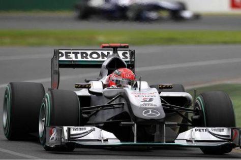 Michael Schumacher will in Sepang in Podestnähe fahren