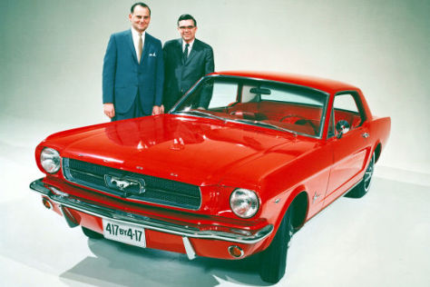 Ford Mustang Konstruktionschef Donald Frey