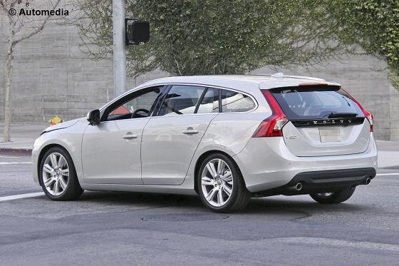 Erlkönig Volvo V60