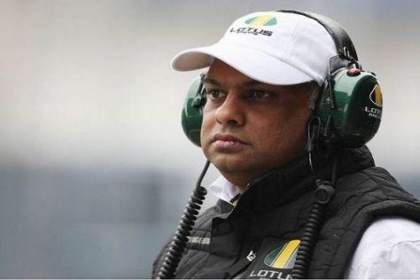 Tony Fernandes freut sich über den gelungenen Saisonstart seines Rennstalls