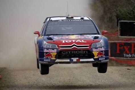 Die Piloten sind angehalten, mit dem C4 WRC sorgsam umzugehen