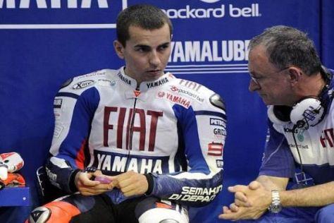 Jorge Lorenzo steht laut Davide Brivio 2010 unter großem Druck