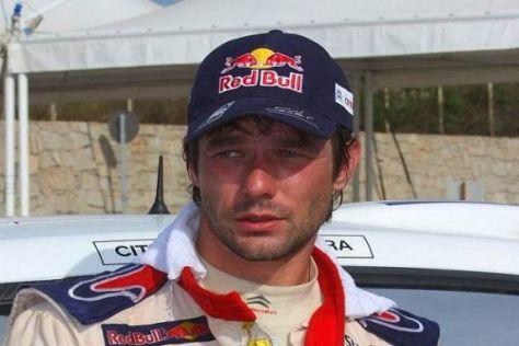 Sébastien Loeb findet die ganze Rallye Jordanien schwierig