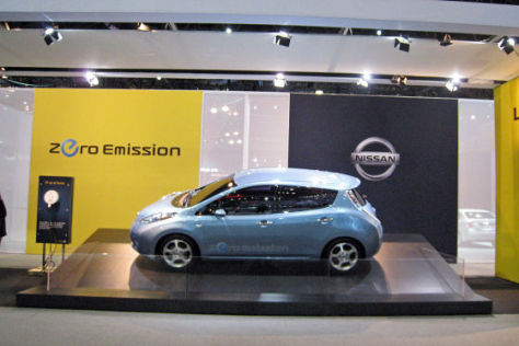Nissan Leaf in New York 2010