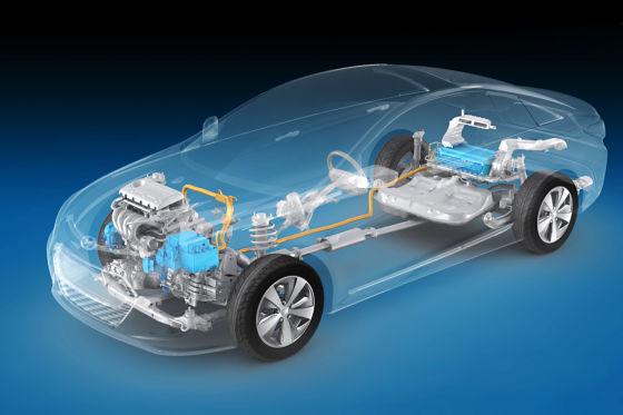 Hyundai Sonata Hybrid (US-Version)