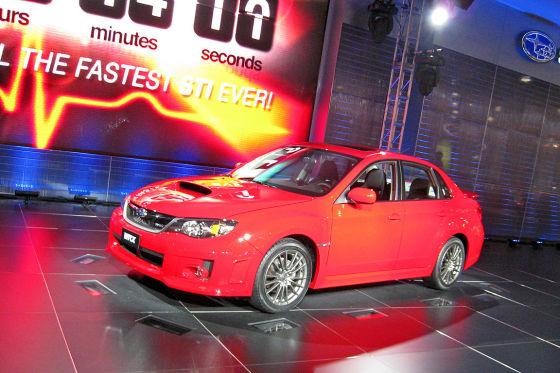 Subaru Impreza WRX STi: Rallye-Kracher mit Kofferraum. Die viertürige Variante ist neu, wird verbreitert.
