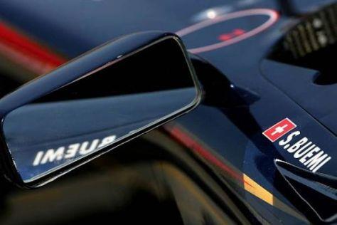 Auch am Toro Rosso sind die rückspiegel am Cockpitrand befestigt