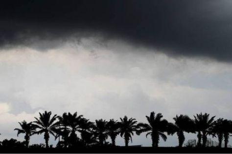 Donnerstag in Sepang: Das Wetter ist in Malaysia oftmals unberechenbar