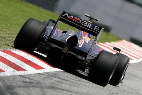 Mark Webber musste seinen Red-Bull-Renault frühzeitig abstellen