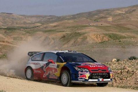 Sébastien Loeb ist in Jordanien auf dem fast sicheren Weg zum Sieg