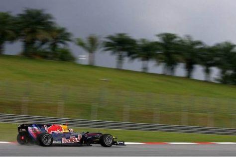 Sebastian Vettel setzte im Qualifying auf einen anderen Reifen als Webber