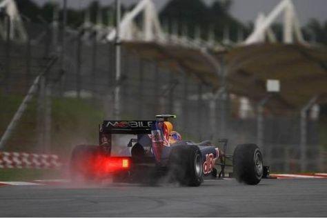Mark Webber fuhr der Konkurrenz auf und davon - auch Sebastian Vettel