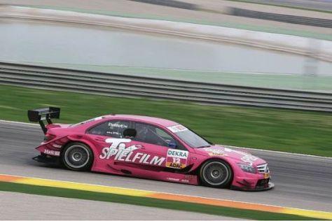 Lady in Pink: Susie Stoddart will 2010 einmal mehr für Furore in der DTM sorgen