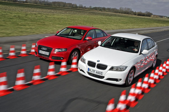 Audi A4 BMW 3er