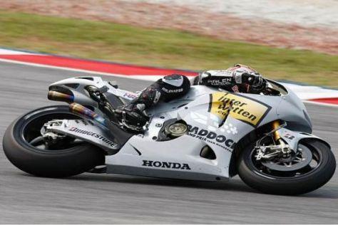 Hiroshi Aoyama muss sich an seine neue Honda RC212V erst noch gewöhnen