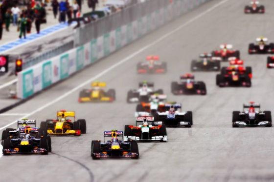 Start zum GP von Malaysia 2010