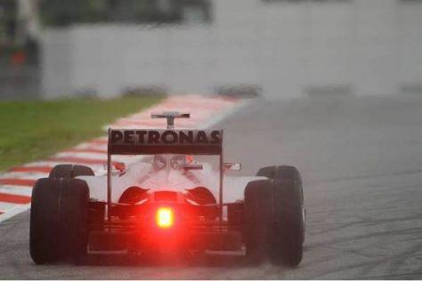 Rot sieht Nick Fry nicht: Der Mercedes-Geschäftsführer traut seinem Team viel zu