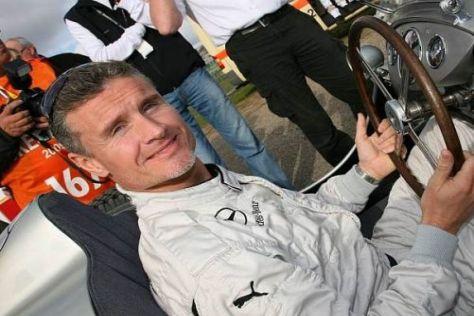 David Coulthard greift in dieser Saison in der DTM für Mercedes ins Lenkrad