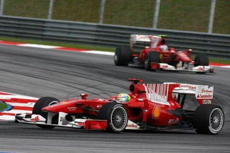 Ein Fotomontage-Blick in die mögliche Zukunft: 18-Zoll-Räder am Formel-1-Auto