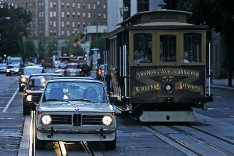 San Francisco Cable Car BMW 2002