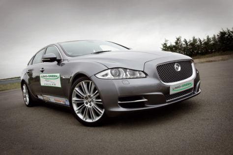 Jaguar XJ-Studie Limo-Green