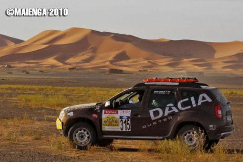 Dacia Duster bei der Rallye Aïcha des Gazelles