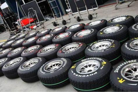 Müssen die Teams auch beim Rennen in China wieder Regenreifen aufziehen?