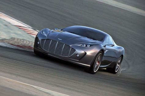 Aston Martin Gauntlet Concept Studie