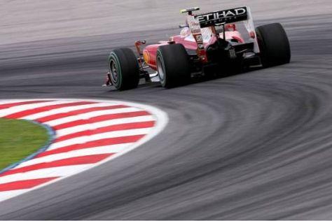 Fernando Alonso sieht sich und Ferrari bislang auf einem sehr guten Weg