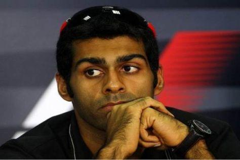 Karun Chandhok hat bereits drei Formel-1-Rennen für das HRT-Team bestritten
