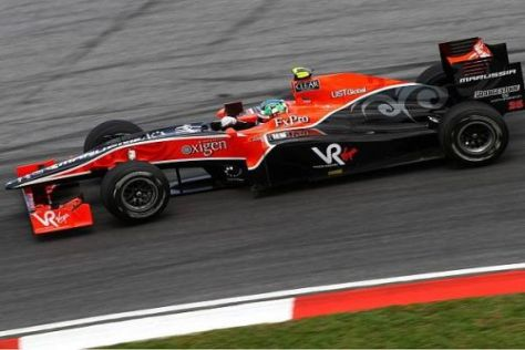 Lucas di Grassi meisterte die Renndistanz von Malaysia und kam als 14. ins Ziel